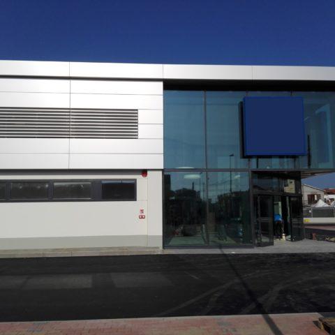 progettazione esecutiva edificio commerciale